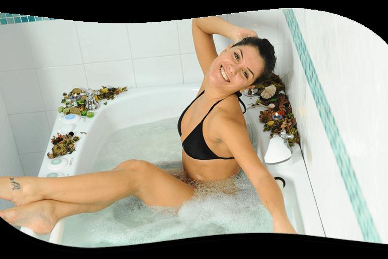La balneoterapia ozonizzata